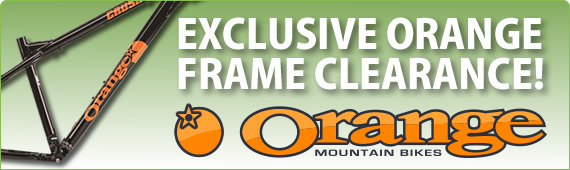 EXCLUSIVE ORANGE FIVE CLEARANCE! Click here to view.