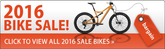 2016 Bike Sale now on. Click here to view all 2016 sale bikes.
